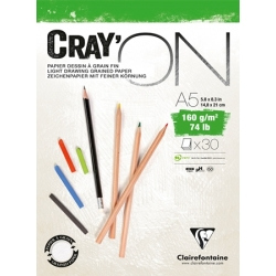 Bloc Cray'ON Encollé 30F 160g
