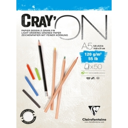 Bloc Cray'ON Encollé 50F 120g