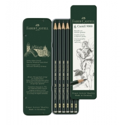 Boite Metal 6 Crayons...