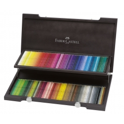 Coffret Bois 120 Crayons...