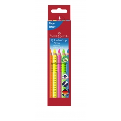 JUMBO GRIP Etui 5 Crayons...