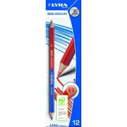 Crayon duo Bleu/Rouge Lyra