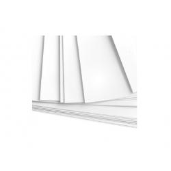 Cartonnette blanche