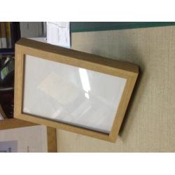 Cadre sous-verre Glass Box