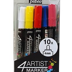 4Artist Marker Set 10 x 4 mm