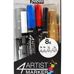 4Artist Marker Set 8 marqueurs