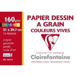Pochette Dessin A4 12F 160g...
