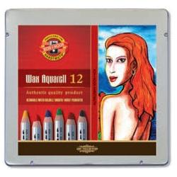 Boite 12 Crayons Wax Aqua...