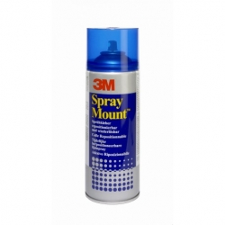 3M  - Colle Spray Mount (Bleu)