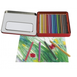 Boite Metal 16 Crayons...