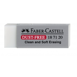 Gomme Dust-Free Blanc Faber...